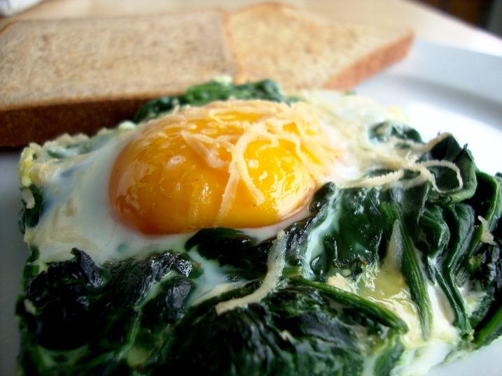 florentine baked eggs